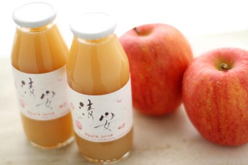 青森完熟りんご100%ジュース「清安(せいあん)」